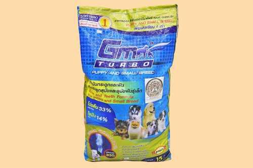 GM TURBO PUPPY & SMALL BREED อาหารสุนัขสำหรับขาย