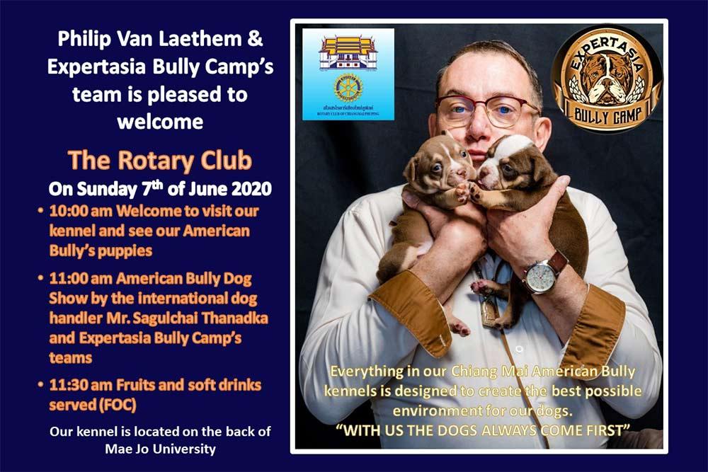 Rotary Club of Chiang Mai Phuping & Chiang Mai International Rotary Club Visit